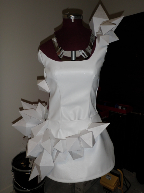 Lady Gaga Origami Dress Sewing Projects Burdastyle