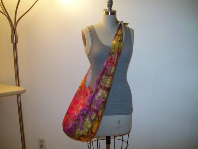 Shoulder Tie Hobo Bag – Sewing Projects | BurdaStyle com