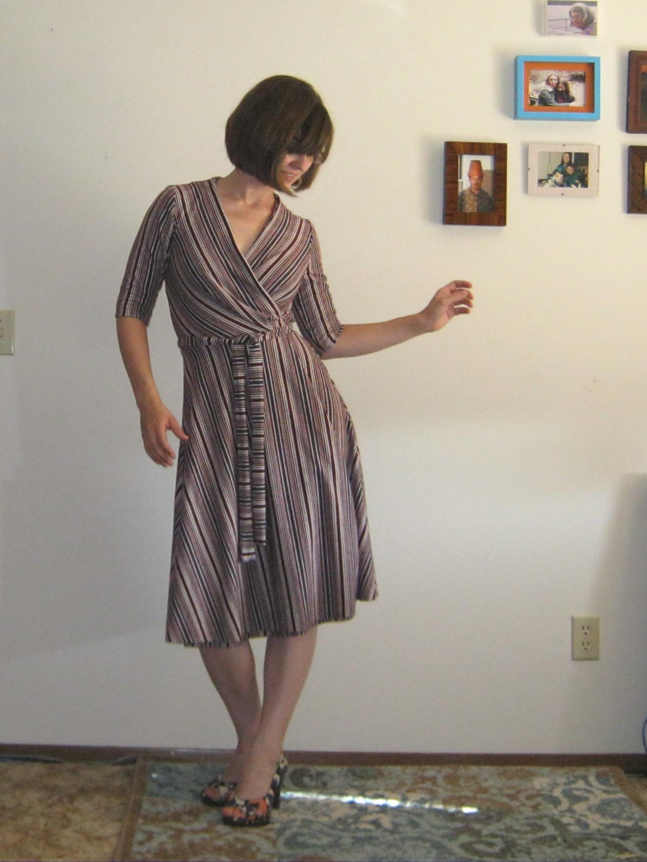Wrap Dress Sewing Pattern Interesting Decorating