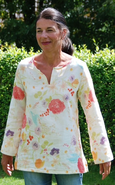 Summer Breeze Kaftan – Sewing Projects | BurdaStyle.com