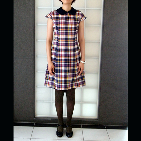 Peter Pan Collar Dress Sewing Projects Burdastyle