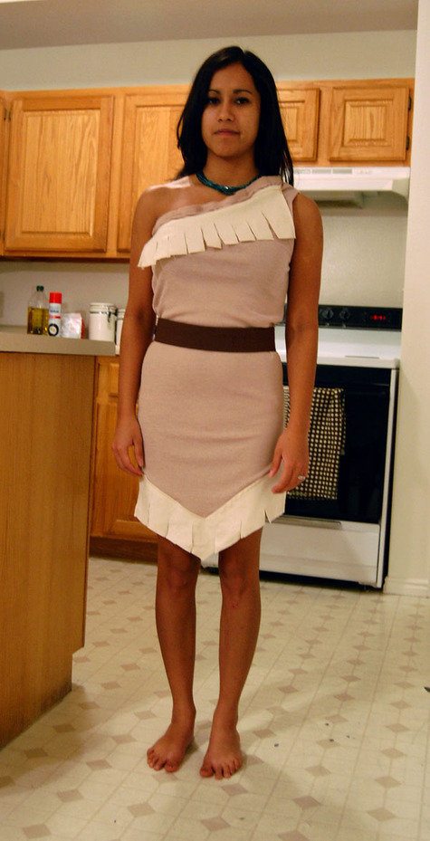 No Pattern Pocahontas Costume – Sewing Projects | BurdaStyle.com