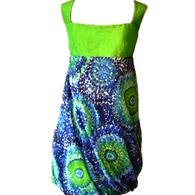 Eco_green_blue_balloon_designer_dress_listing