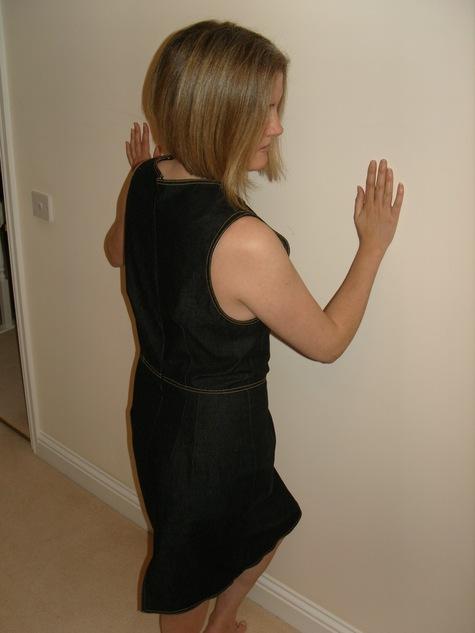 Black Denim Pinafore Dress Sewing Projects Burdastyle