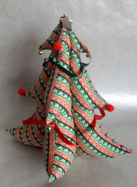 Fabric Christmas Tree Sewing Projects Burdastyle Com