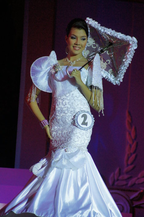 white mermaid cut filipiniana gown – Sewing Projects | BurdaStyle.com