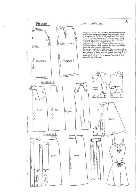 Skirt pattern for every size