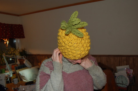 pineapple hat – Sewing Projects  e89b82da512