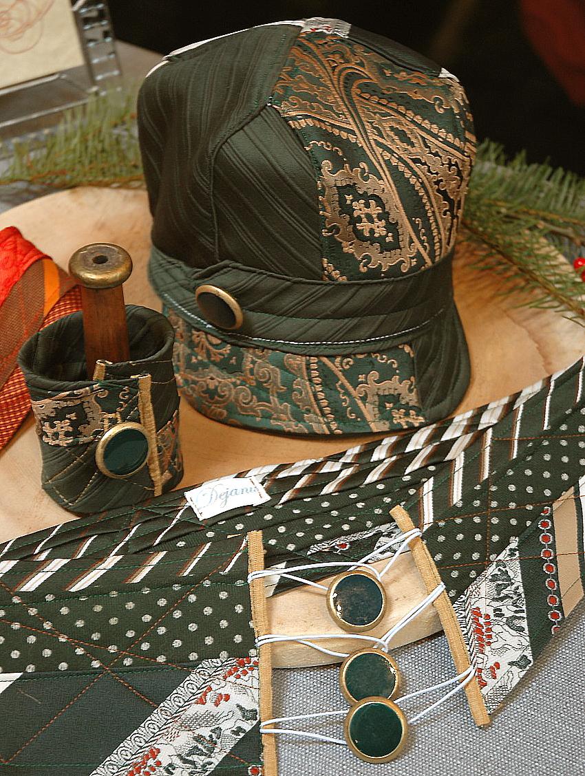 Vintage Necktie Hat Modcloth Handmade Contest Sewing