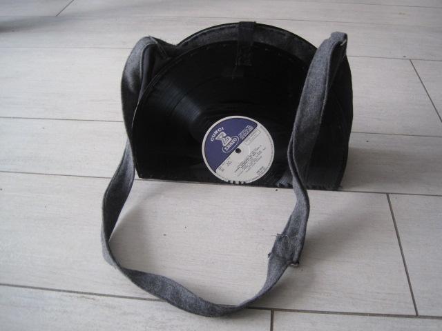 vinyl record purse – Sewing Projects   BurdaStyle com