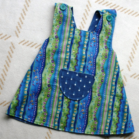 Dora's Reversible Pippi-Longstocking-Apron – Sewing ...