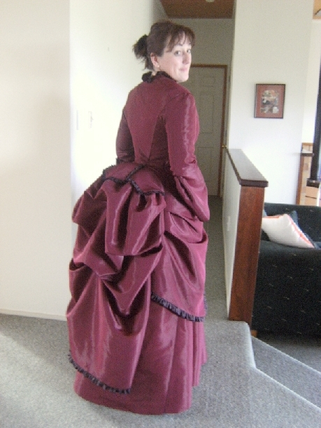 1870\'s Bustle Dress – Sewing Projects | BurdaStyle.com