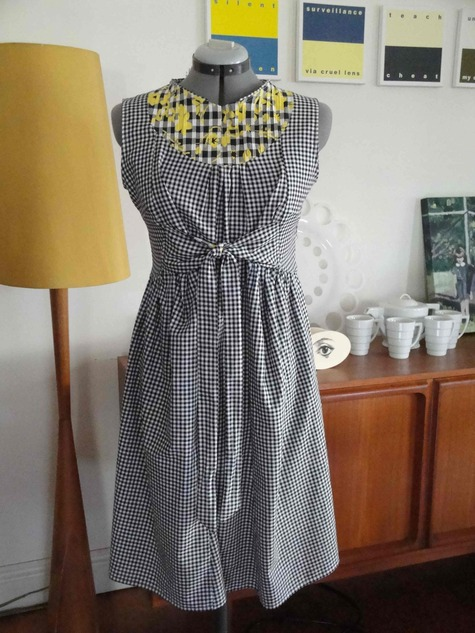 c47b626525d Gingham Maternity Dress – Sewing Projects