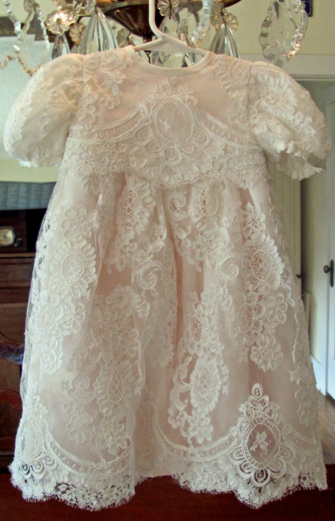 Baby Lace Christening Gown – Sewing Projects | BurdaStyle.com
