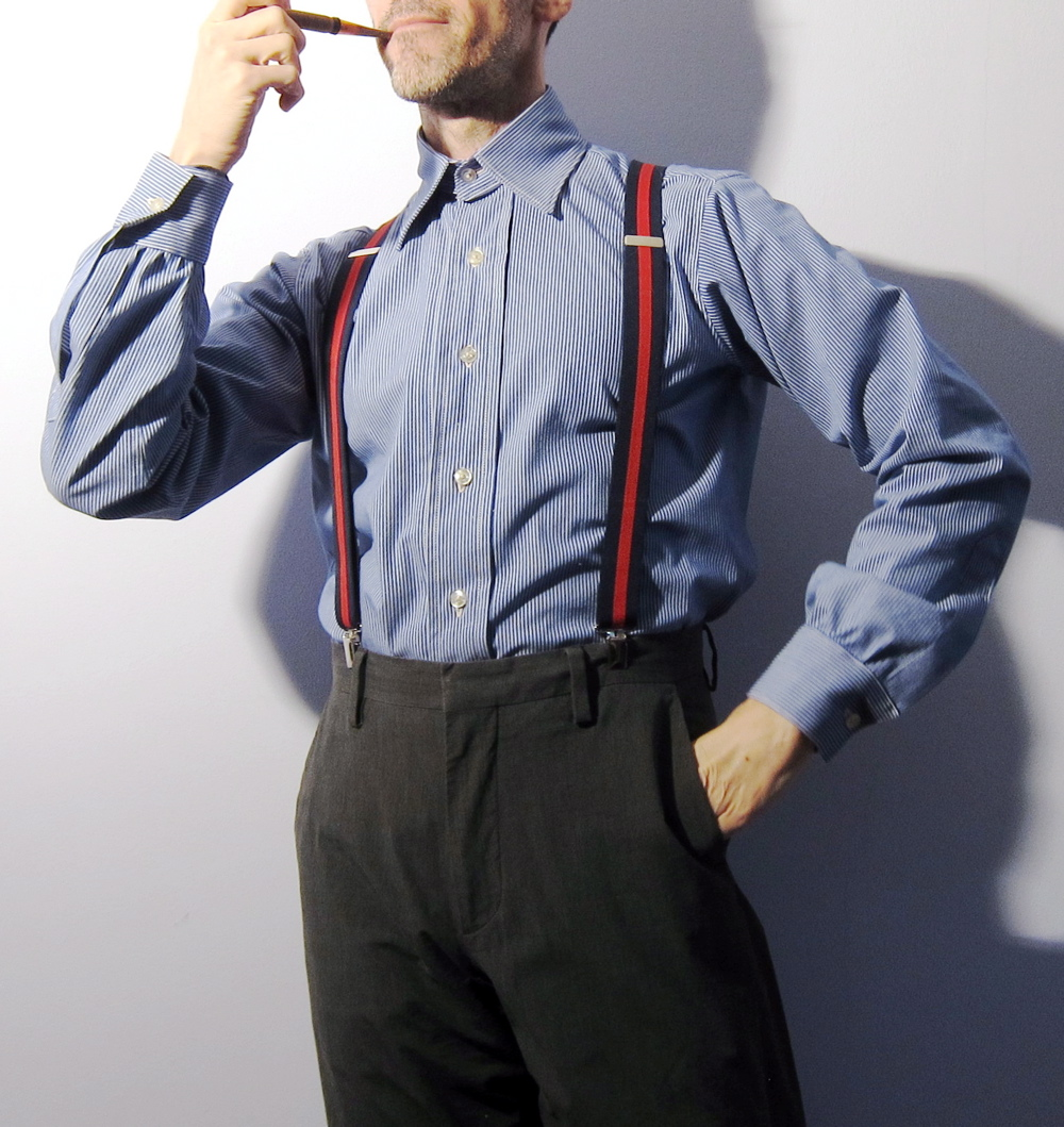 1939 Mens Shirt W Detachable Collar Sewing Projects Burdastyle