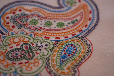 Freeform Paisley Embroidery Sewing Projects Burdastyle