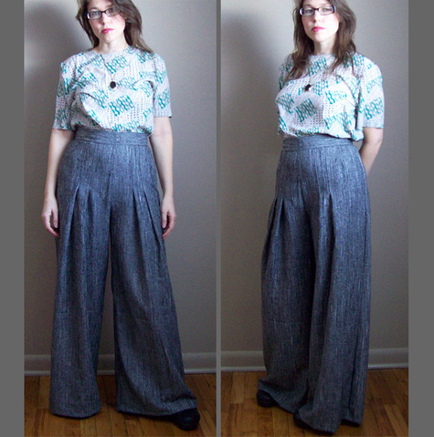 1970s Wide Leg Pants – Sewing Projects | BurdaStyle.com