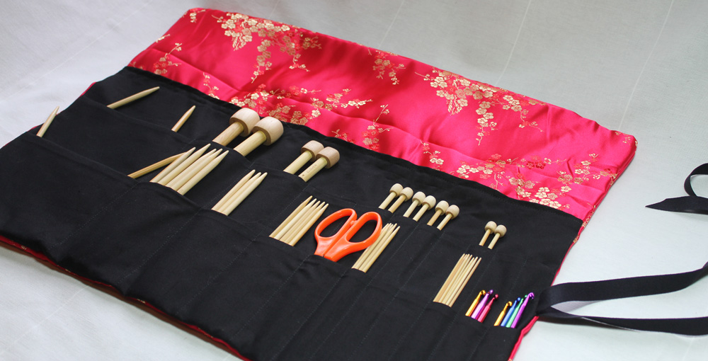 Knitting Needle Case Pdf Pattern By Skadoot On Etsy Sewing
