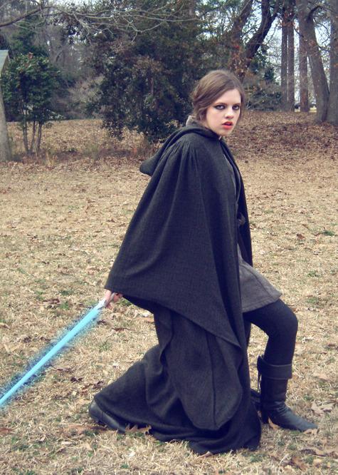 Star Wars Jedi Cloak & Costume – Sewing Projects   BurdaStyle.com