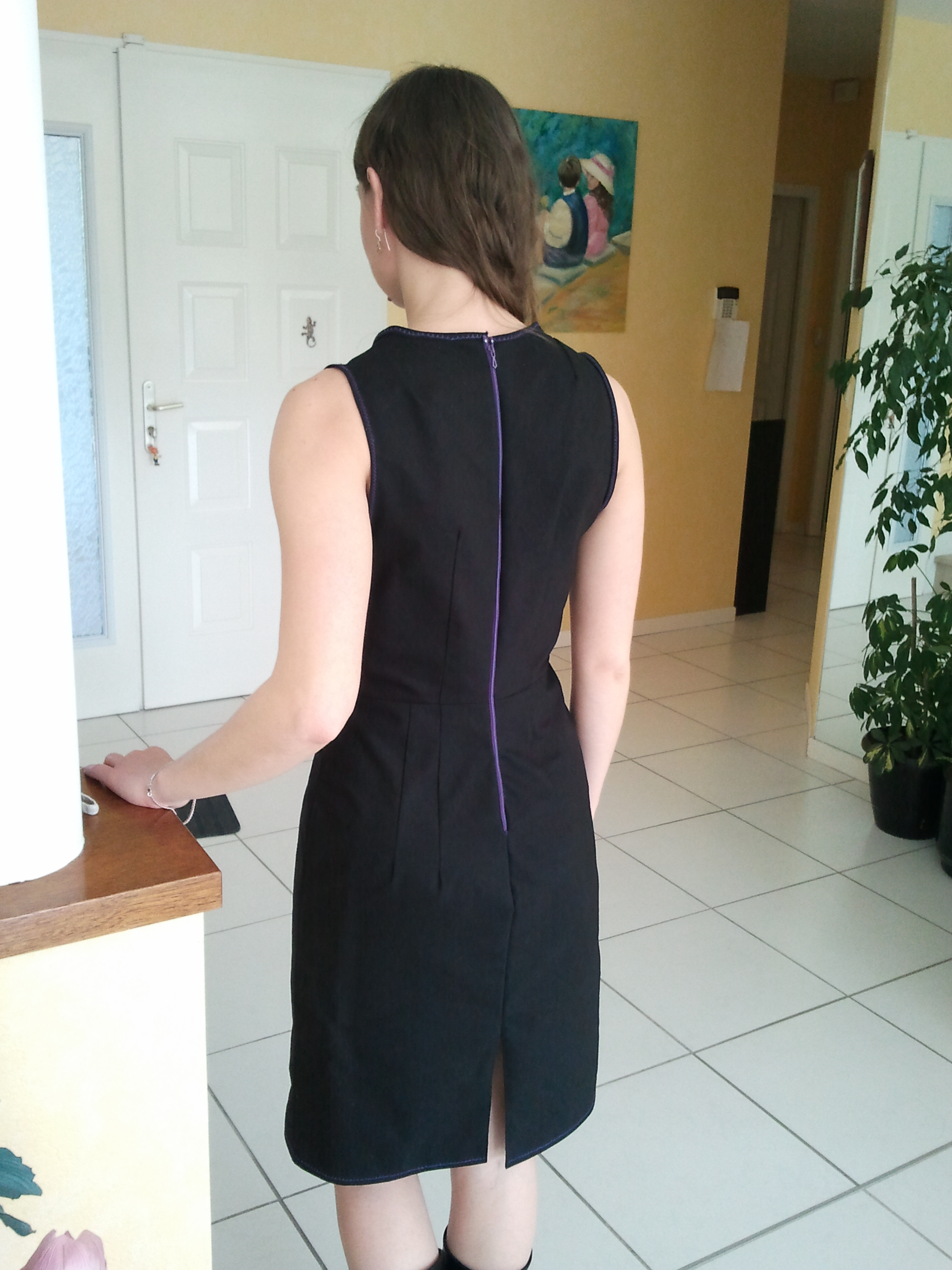 Is This A Black Pinafore Dress Sewing Projects
