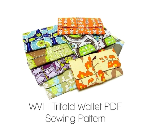 WVH Trifold Wallet PDF Sewing Pattern – Sewing Projects | BurdaStyle.com