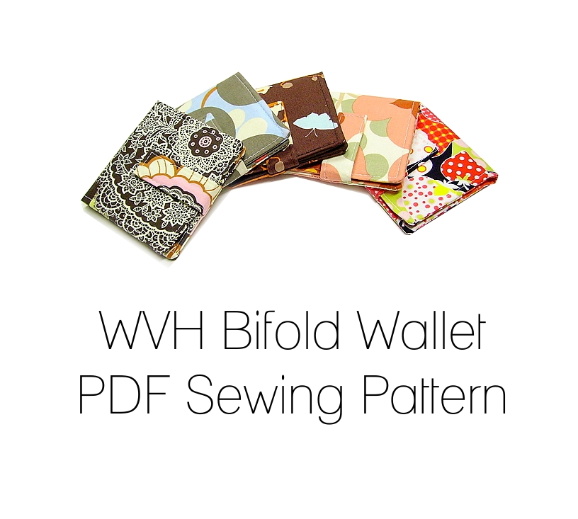 WVH Bifold Wallet PDF Sewing Pattern – Sewing Projects | BurdaStyle.com