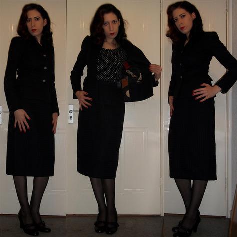 sewing a ladies suit