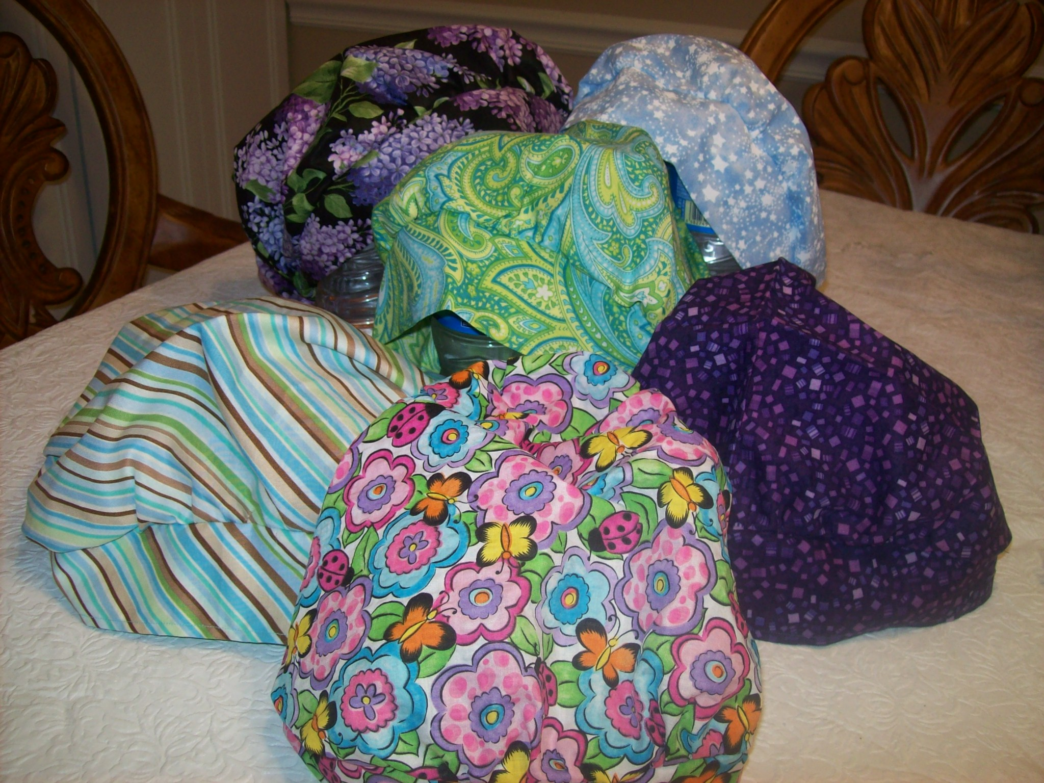 Surgical Hat Pattern Bouffant Surgical Cap Pattern Scrub Cap Sewing