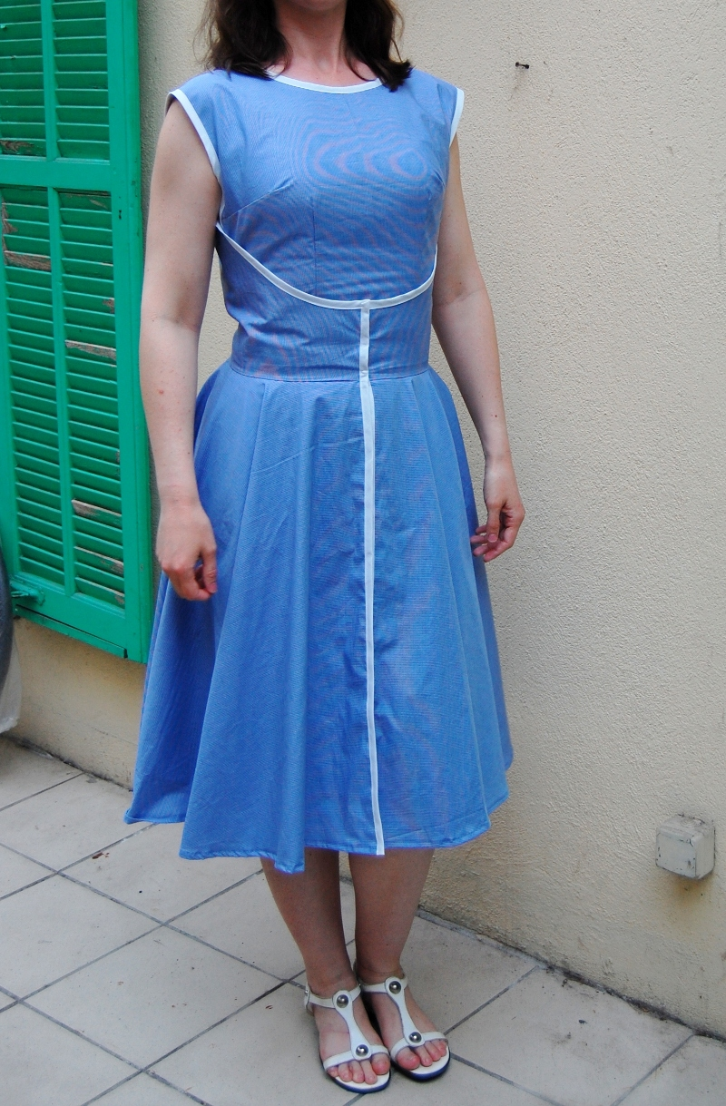 Blue 1950s Quot Walk Away Quot Dress Sewing Projects