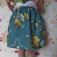 Golden_roses_vintage_skirt_closer_listing