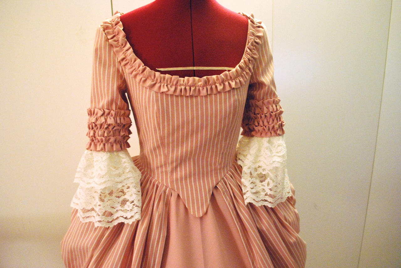 18th century gown – Sewing Projects | BurdaStyle.com
