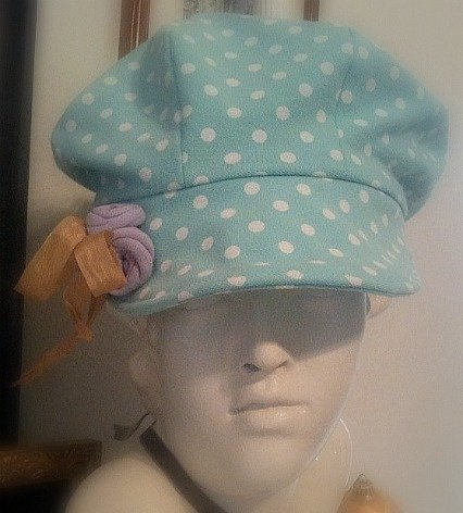 Newsboy Cap Using Recycled T Shirts DIY Sewing Pattern Tutorial ...