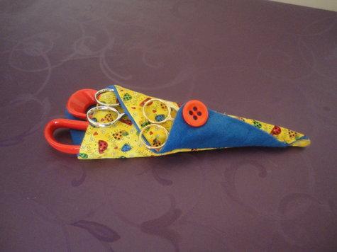 how to make a scissor keeper