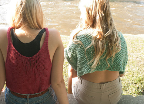 Knit Crop Top – Sewing Projects | BurdaStyle.com