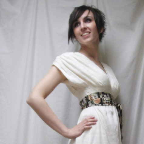 The Grecian Goddess Dress – Sewing Projects | BurdaStyle.com