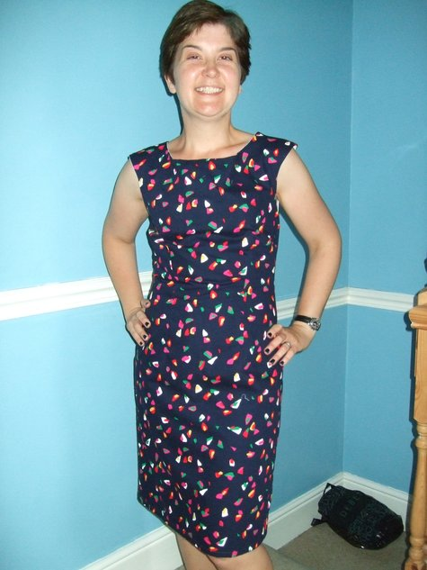 Prima shift dress June 2009 – Sewing Projects | BurdaStyle.com
