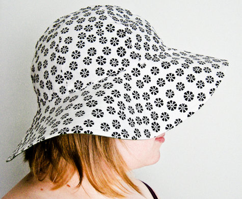 Flip it over Sun Hat – Sewing Projects | BurdaStyle.com