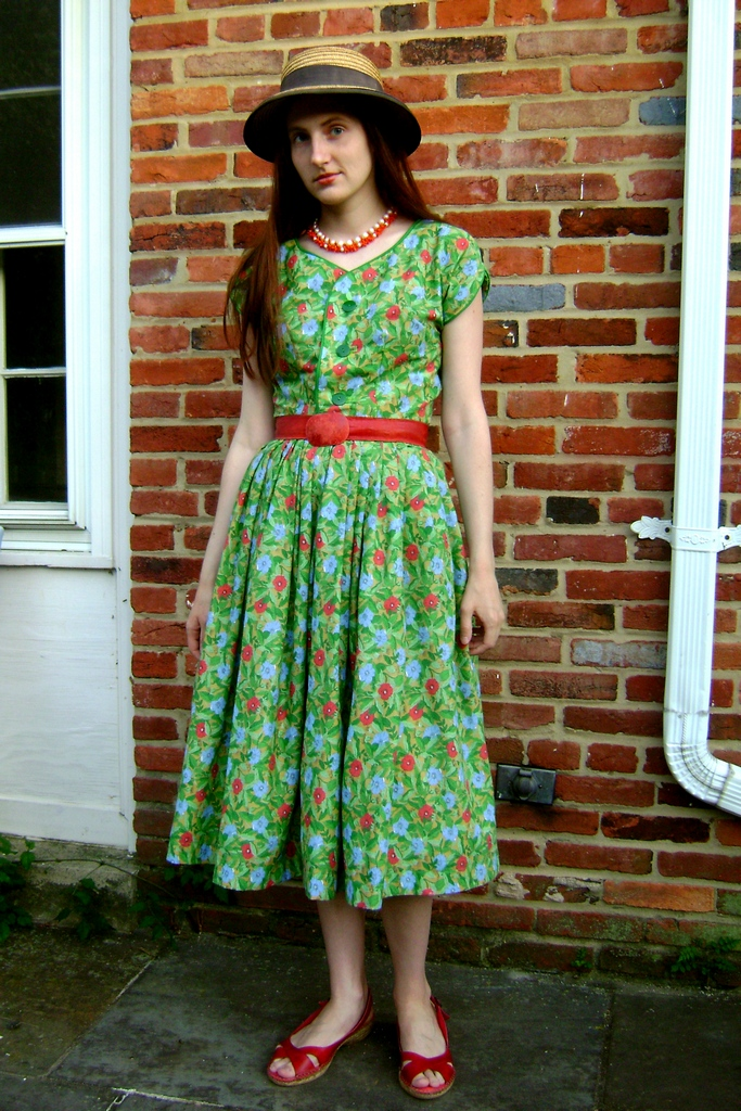 1950 S Style Full Skirt Shirtwaist Dress Sewing Projects
