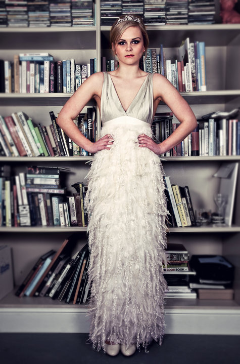 1920\'s inspired Bridal Gown – Sewing Projects | BurdaStyle.com