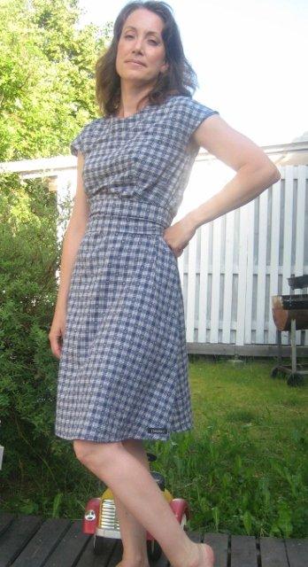 Coffe Date Dress Ala Freezer Sewing Projects