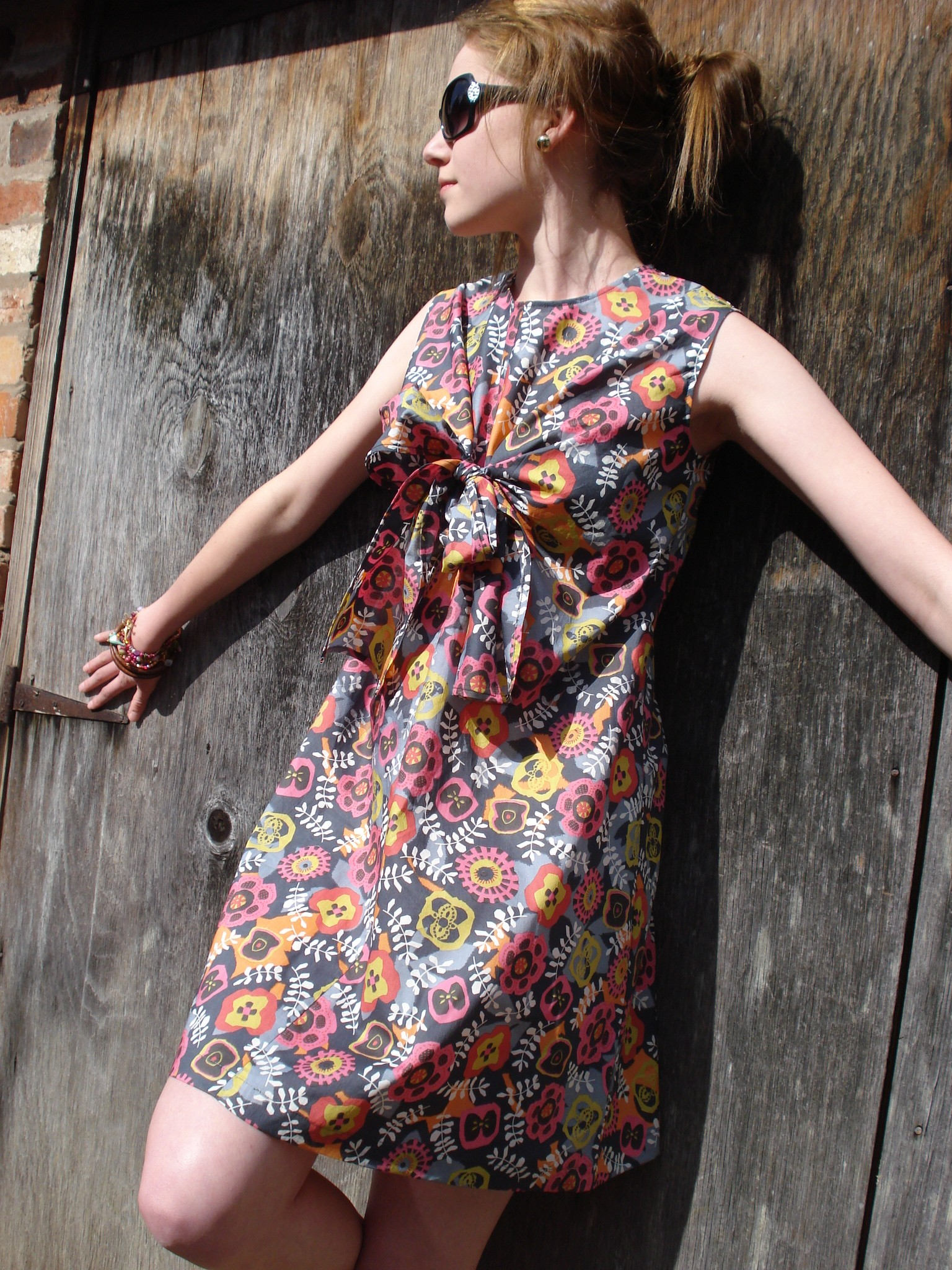 Sweet Disposition Pattern Magic Knot Dress Sewing