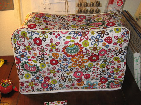 Floral sewing machine cover – Sewing Projects | BurdaStyle.com