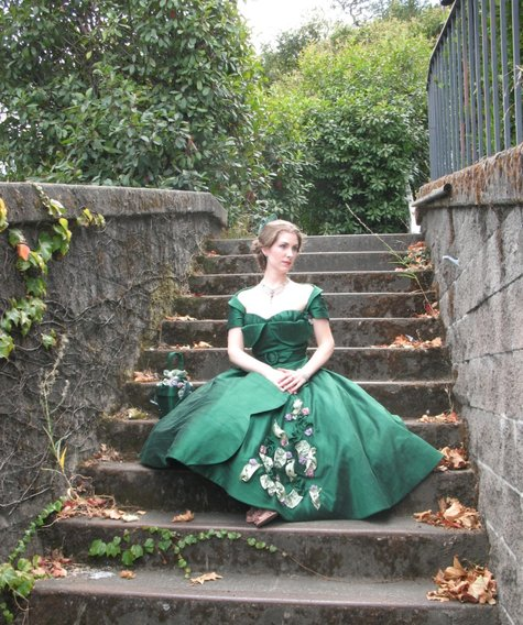Emerald Green Gown Sewing Projects Burdastyle Com