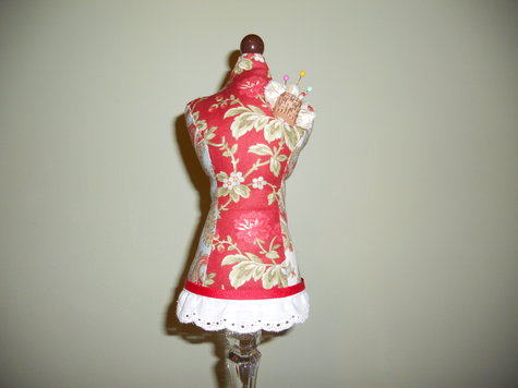 Dress Form Pin Cushion Sewing Projects Burdastyle Com