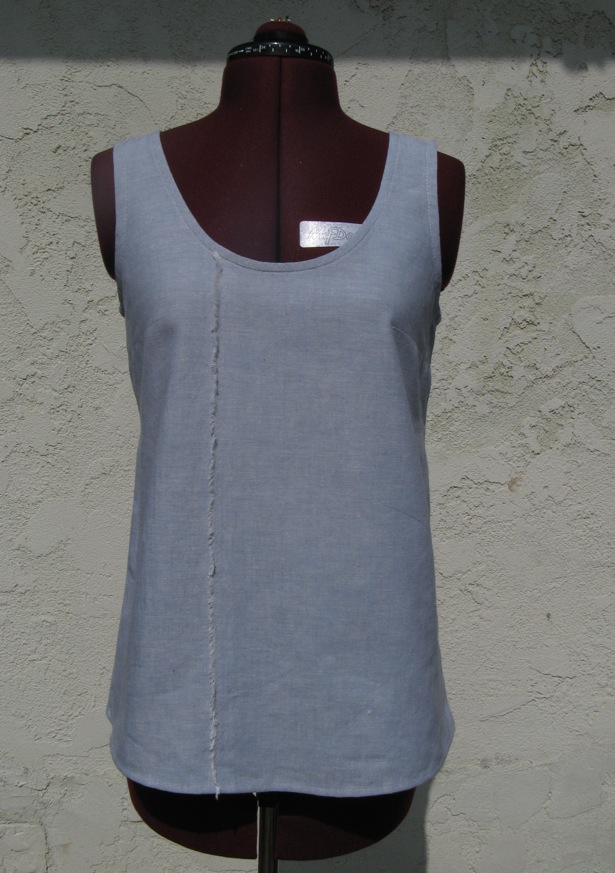 From Sloper To Another Simple Sleeveless Top Sewing Projects