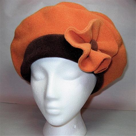Pumpkin Fleece Beret – Sewing Projects  ca29c1ba5ca