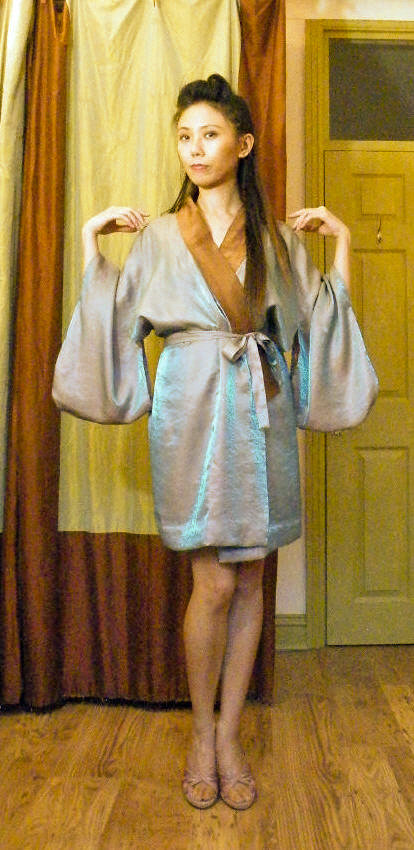 Japanese Kimono Robe Sewing Projects Burdastyle