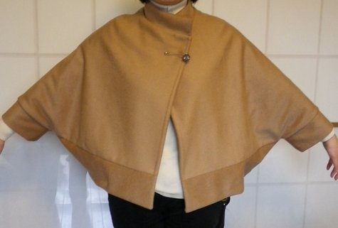 Another cape (cape-jacket) for a cold winter day – Sewing Projects ...