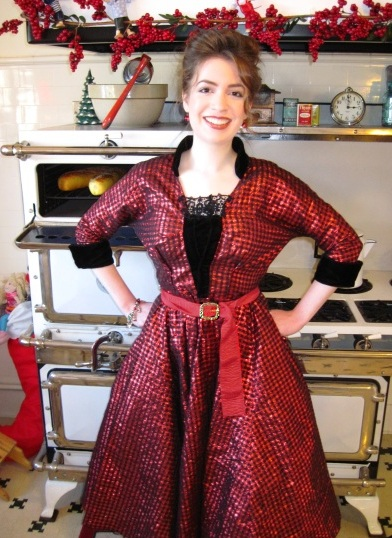 My Retro Christmas Party Dress Sewing Projects