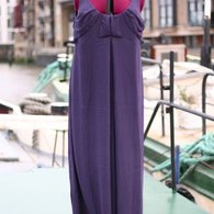 Plum_maternity_gown_-_front_listing